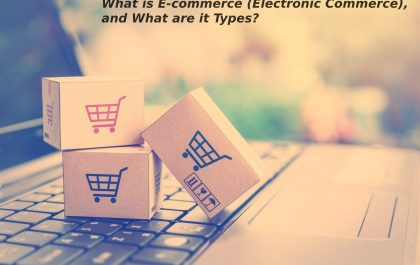What is E-commerce (Electronic Commerce), and What are it Types?
