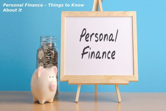 Personal Finance – Things to Know About it - Marketing Marine