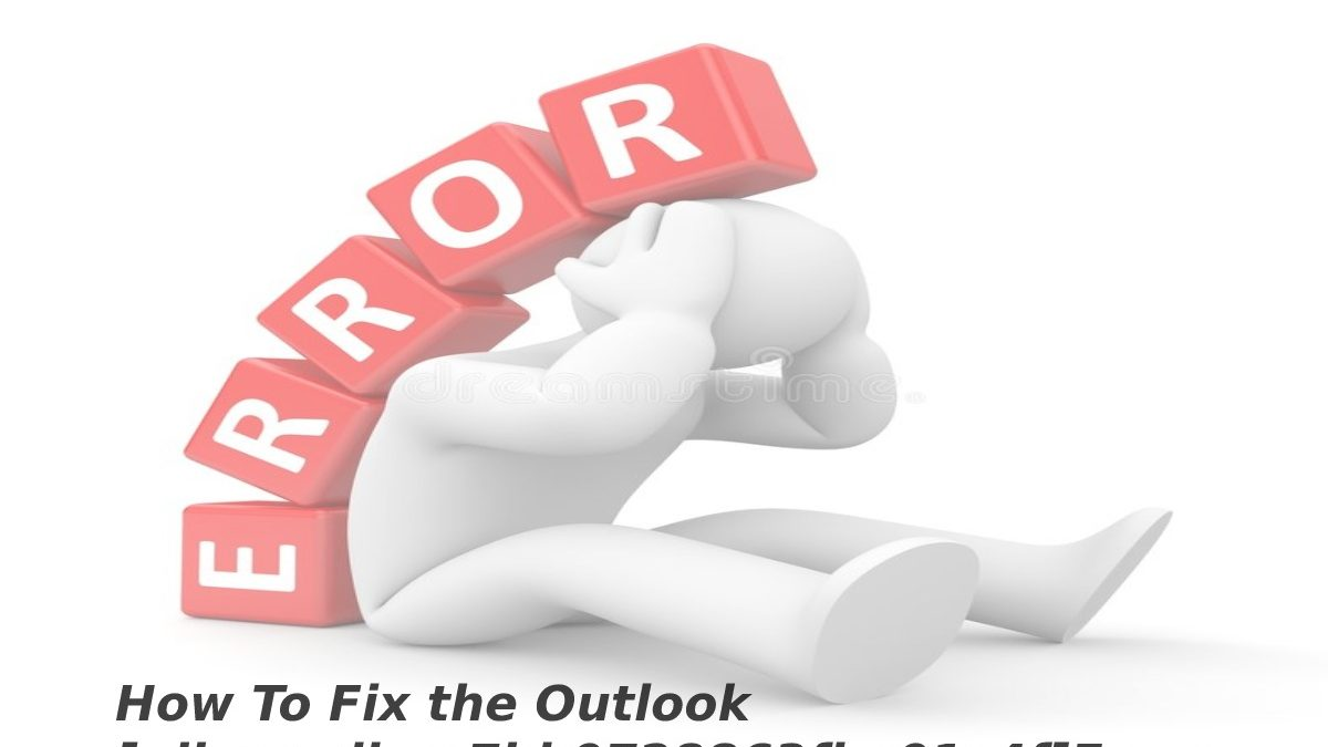 How To Fix the Outlook [pii_email_ac7bb0728863fba01c4f]Error Code