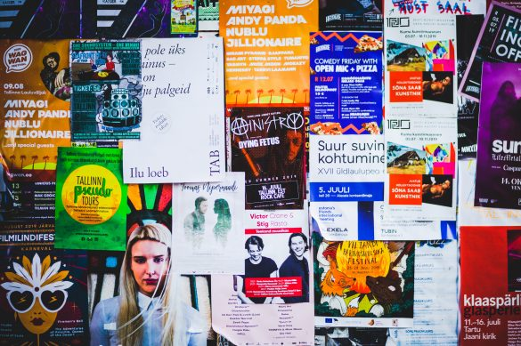 Wild Posters: 3 Tips To A Successful Wild Posting Campaign - 2021