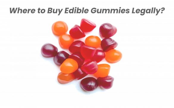Where to Buy Edible Gummies Legally? - Marketing Marine